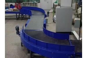 Особенности изготовления поворотных конвейерных лент